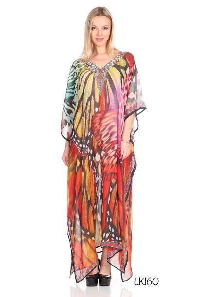 ONE SIZE KAFTAN BEACH COVER UP