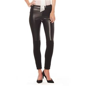 FRONT LEATHER PANTS