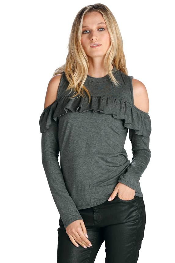 TOP CPLD SHLDR W/RUFFLE