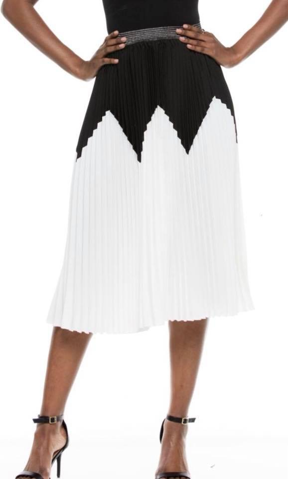 CLASSY PLEATED SKIRT
