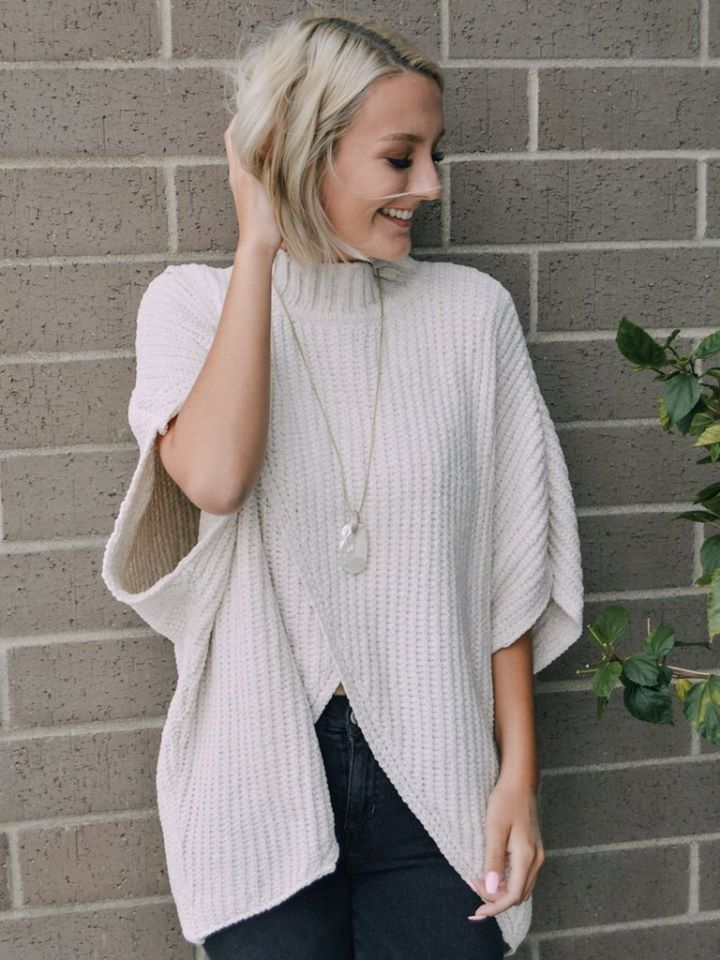 OPEN WEAVE CARDIGAN TOP