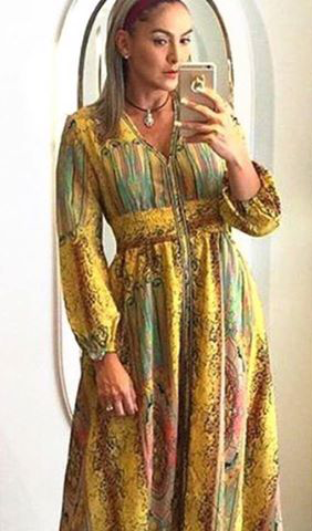 GORGEOUS KAFTAN DRESS